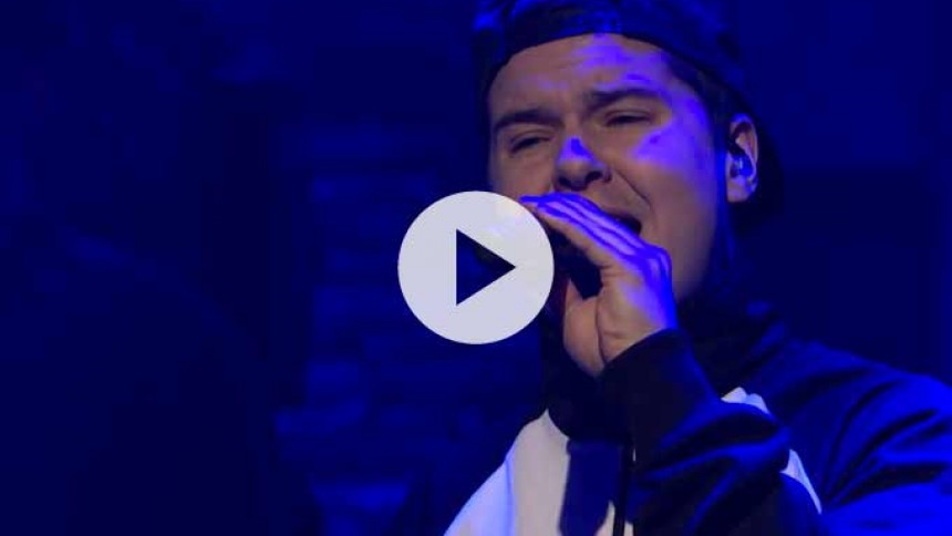 Video: Lukas Graham imponerer igen i amerikansk talkshow