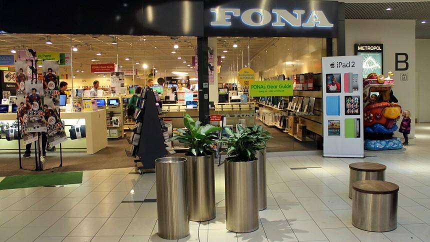 Halvdelen af Fonas butikker skal lukke og slukke