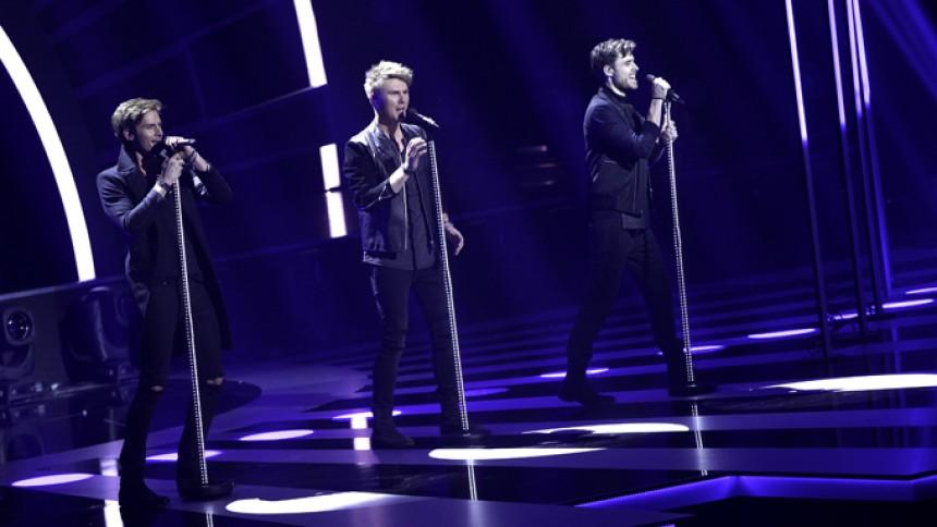 Boyband vinder Dansk Melodi Grand Prix
