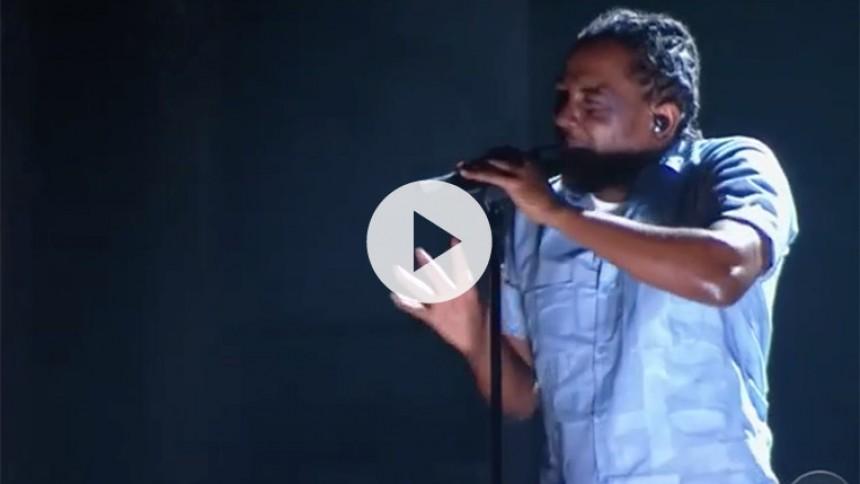 Kendrick Lamar stjal Grammy-spotlightet