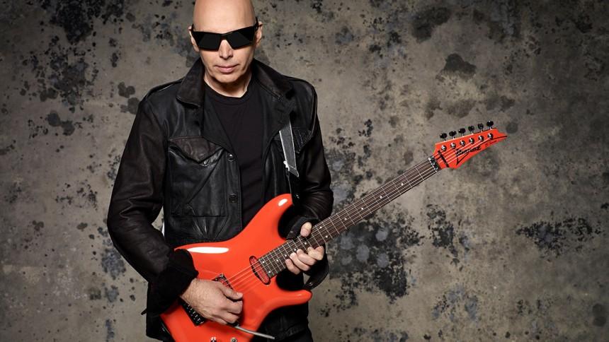 Joe Satriani giver to koncerter i Danmark