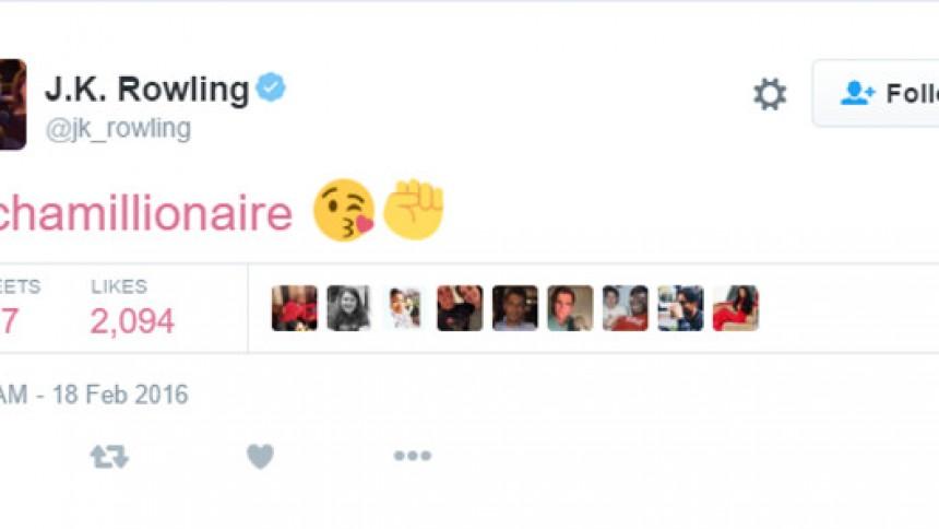 Chamillionaire og J.K. Rowling bonder på Twitter
