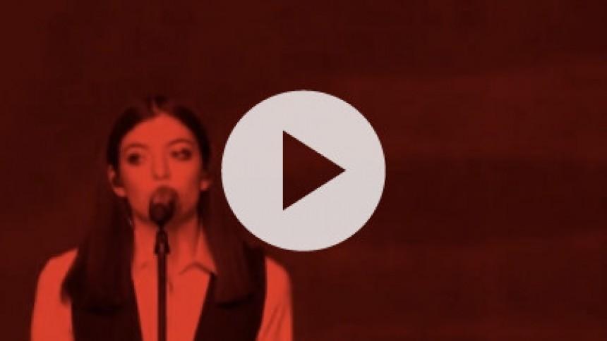 Se Lordes smukke hyldest til David Bowie
