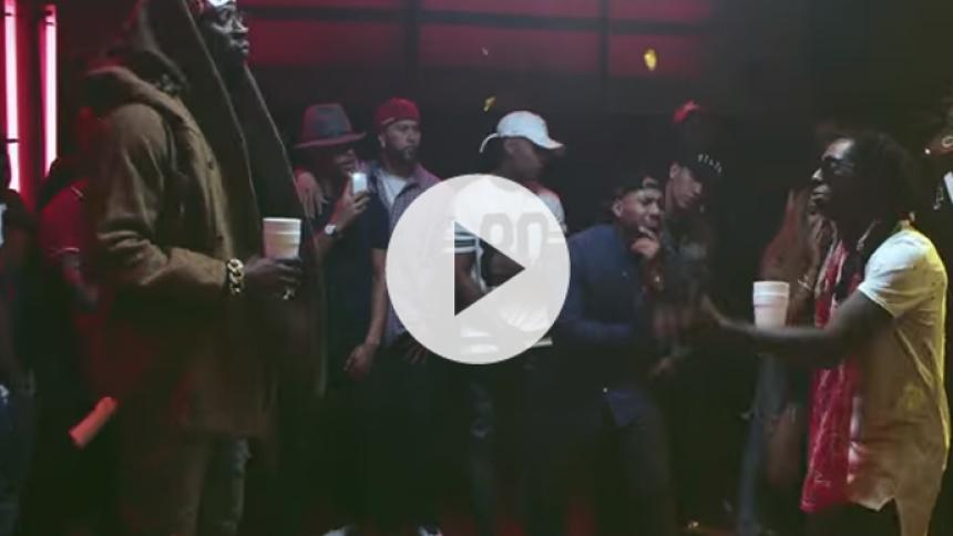 Se Lil Wayne og 2 Chainz i en svedig rapbattle