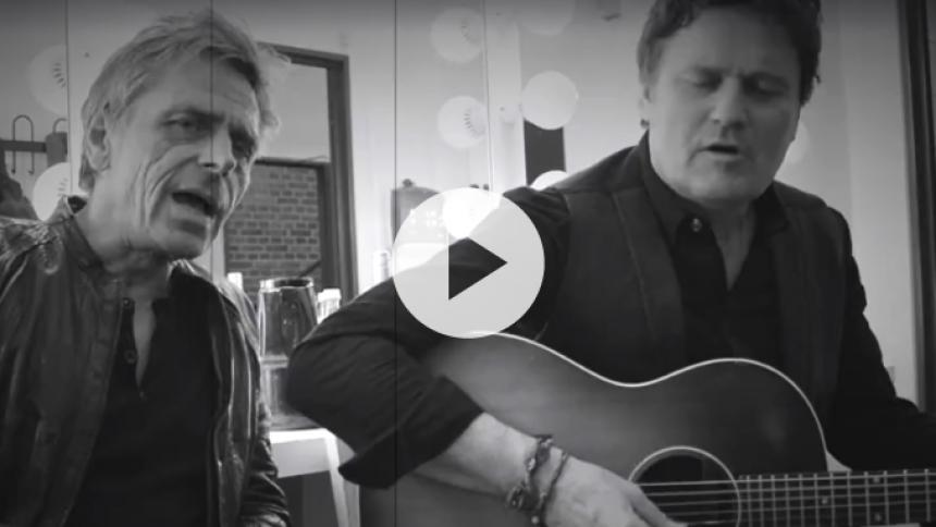 Michael Falch og Poul Krebs synger Citybois