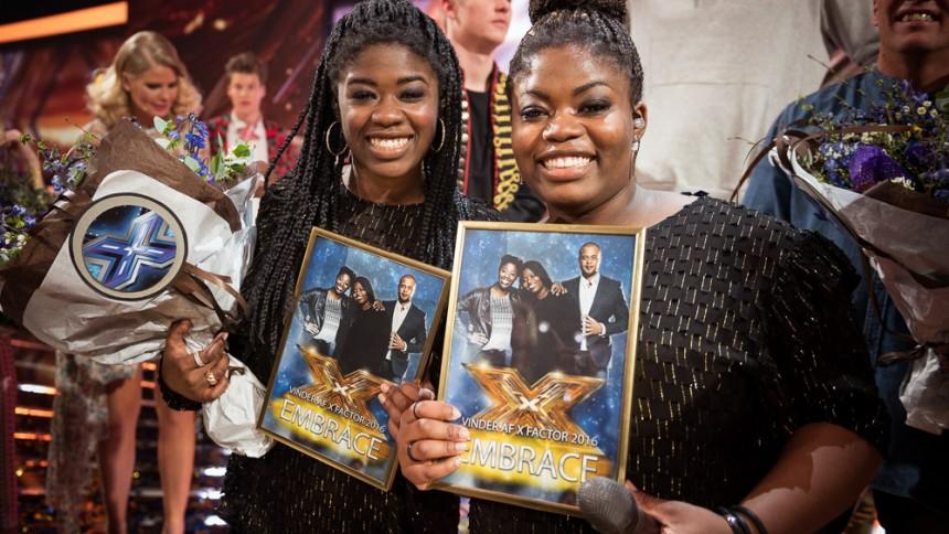 X Factor-vindere langtfra nummer 1 på hitlisten