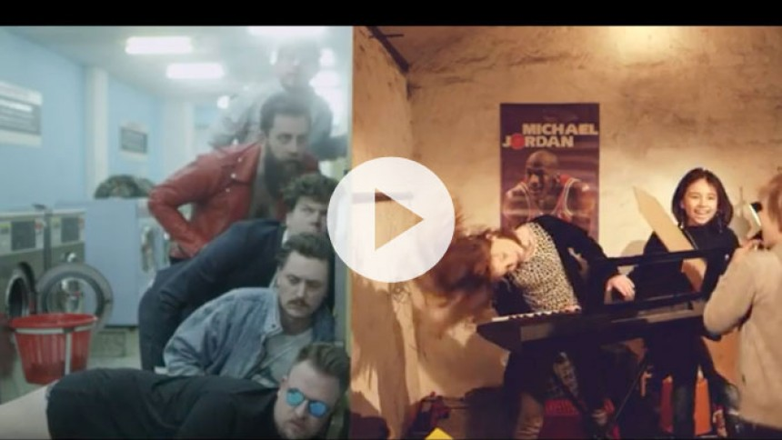 Se The Eclectic Moniker i barnligt selskab i ny video
