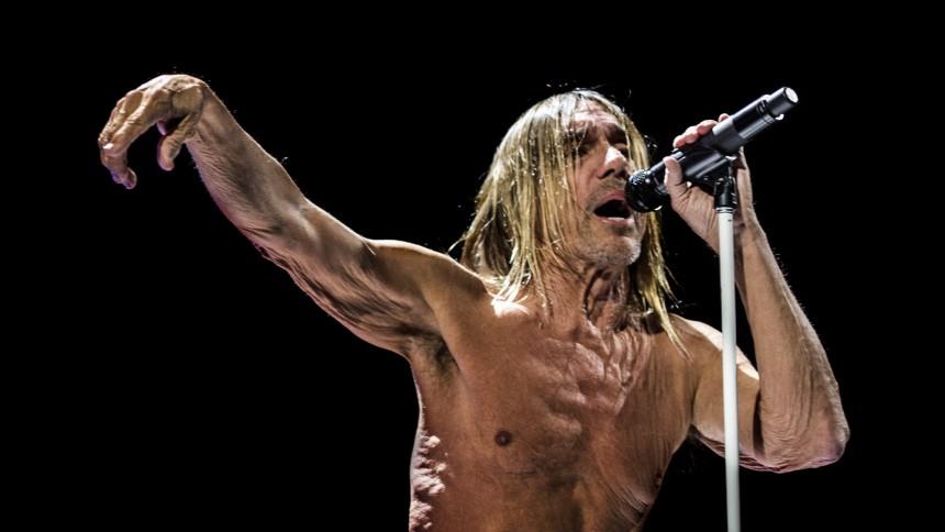 Iggy Pop giver dansk koncert