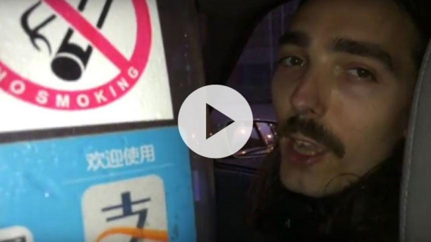 Videodagbog: Antonio Gram på turné i Kina – og taler taxasprog