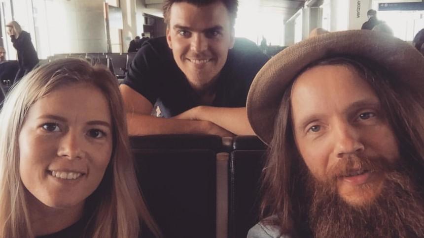 Danske sangskrivere skriver dagbog fra session i Los Angeles