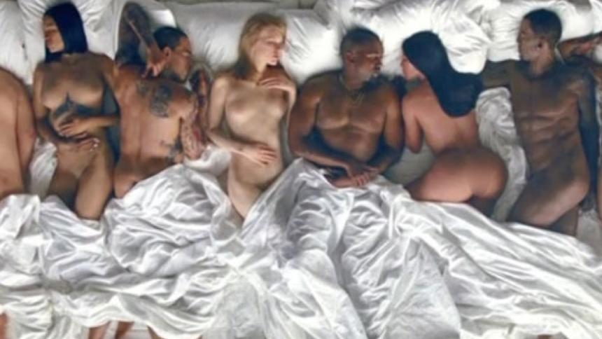 Kanye West chokerer med ny musikvideo