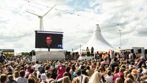 Edward Snowdon Roskilde festival 280616