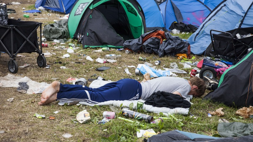 Stor fotoserie: Roskilde Festival i billeder – i sol og regn