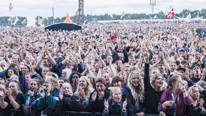 Disse emojis blev brugt mest på årets Roskilde Festival