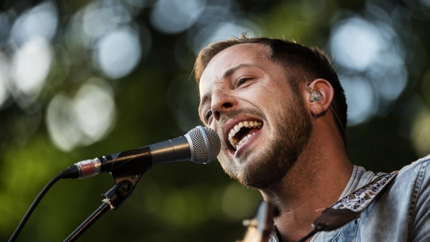 James Morrison giver dansk koncert
