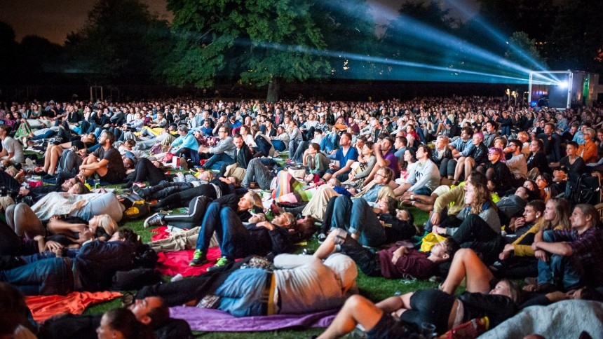 Open-air film i Kgs. Have