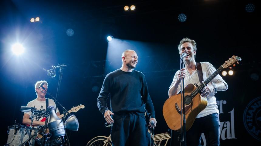 Releasekoncert i helt rette Tønder-ånd