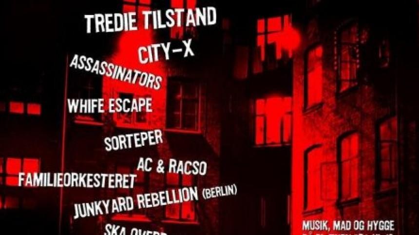 Reggaepionererne Tredie Tilstand genopstår til punkfest