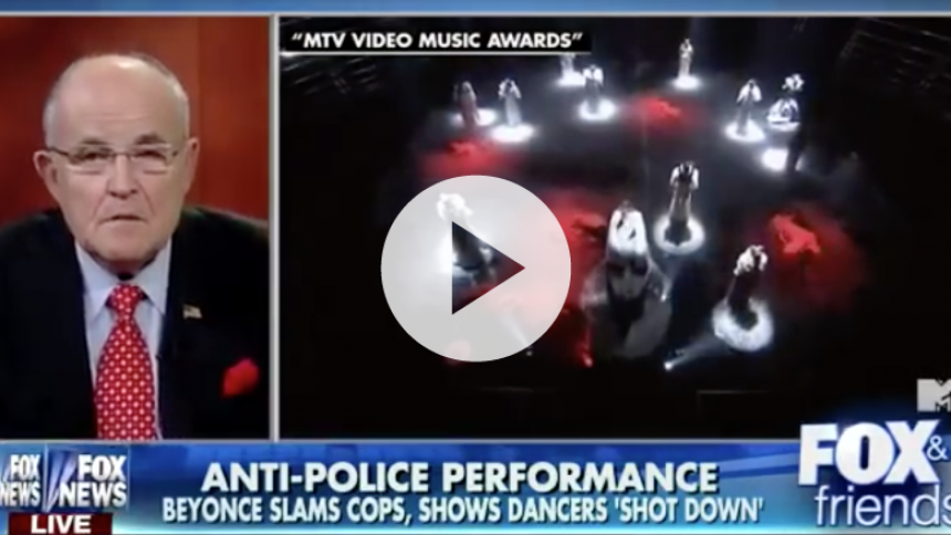 Tidligere New York-borgmester kritiserer Beyoncé efter MTV VMA-optræden