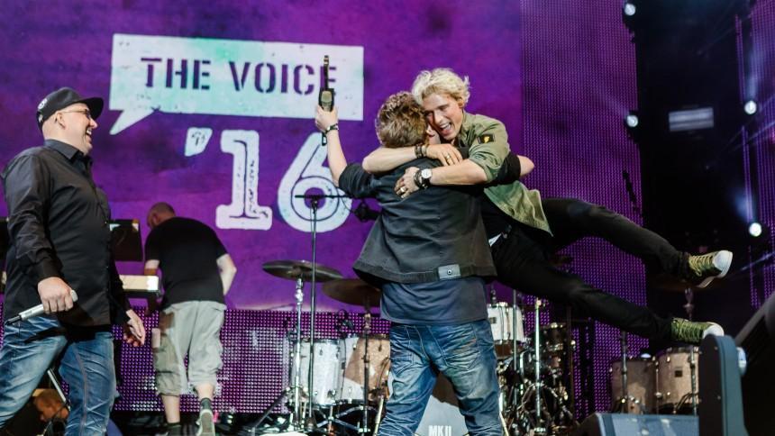 Se stor fotoserie fra The Voice '16 i Tivoli