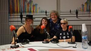 Nelson Can i spansk Radio 3 september 2016