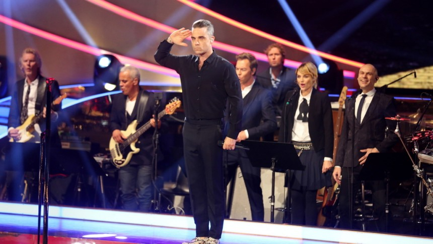 Robbie Williams til Danmark