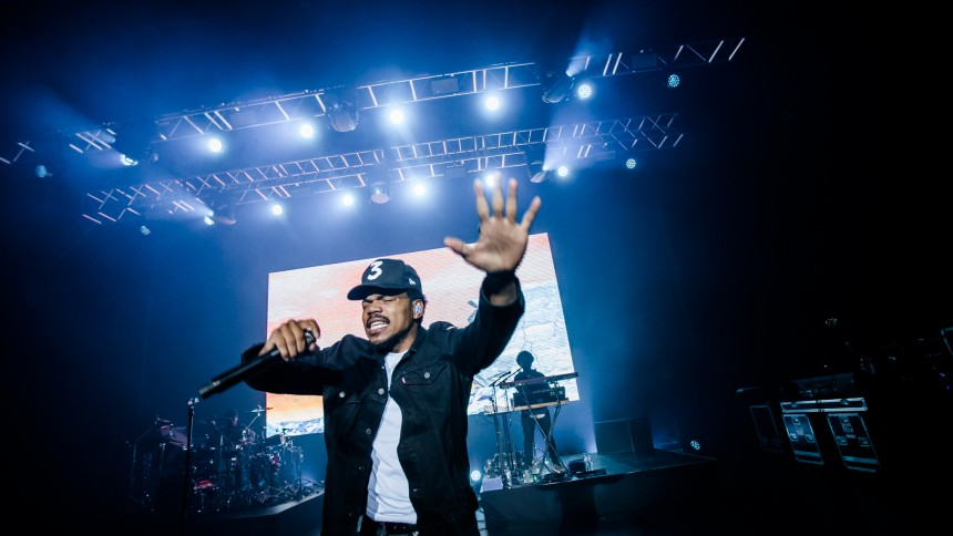 Chance The Rapper indspiller album med Kanye West
