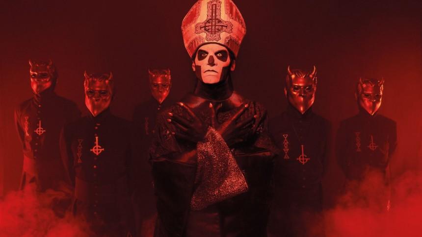 """Ghost før koncerten: """"Så snart vi får maskerne på, er det som at køre på cykel"""""""
