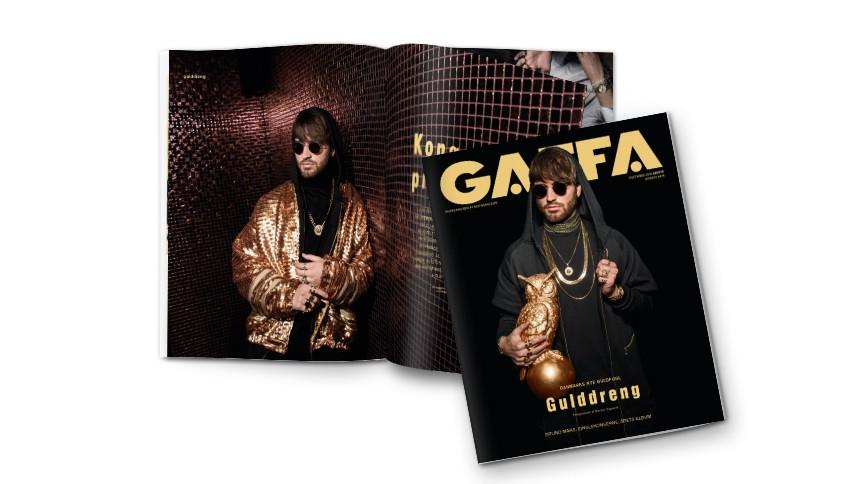Mød Gulddreng i GAFFA december –på gaden i dag