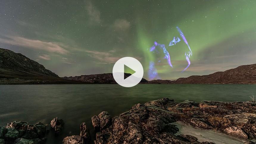 Premiere: Vâlvâ udgiver triphop-inspireret single med superflot nordlys-video