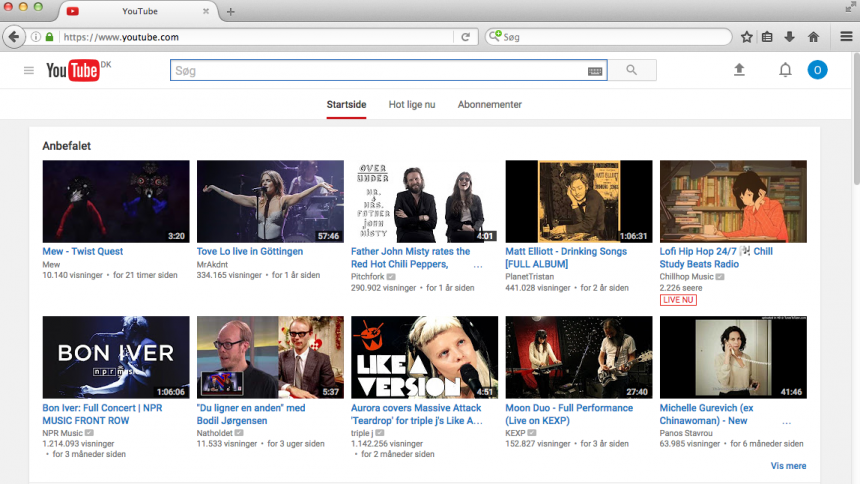 Den danske pladebranche skriver åbent klagebrev om YouTube
