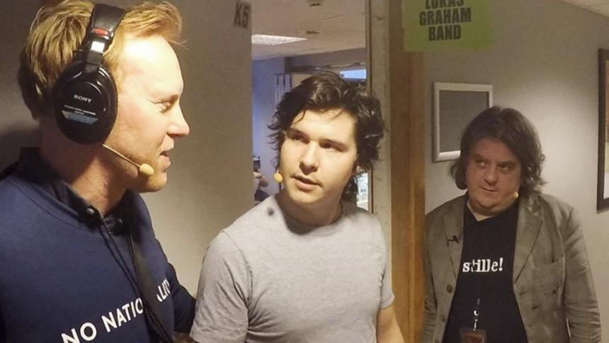 Video: Se Anders & Anders på tour med Lukas Graham