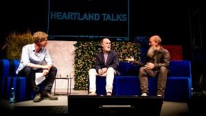 Michael Stipe og Douglas Coupland, Heartland Festival, 040617