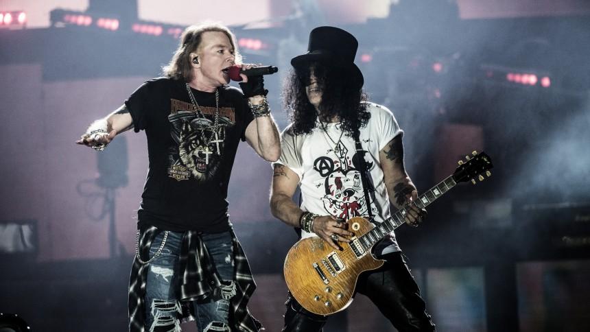 Guns N' Roses tilbage til Danmark