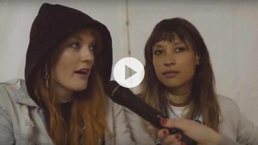 Icona Pop-videointerview på Roskilde: – Vi har aldrig mødt forhindringer, fordi vi er kvinder