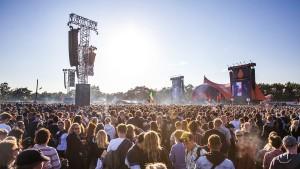 Roskilde Festival-stemning 010717