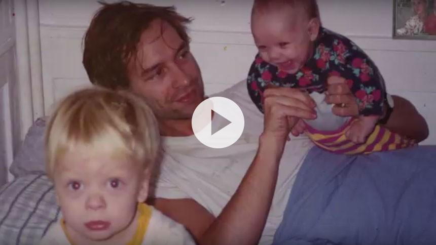 Martin Brygmann hylder børnene i ny video