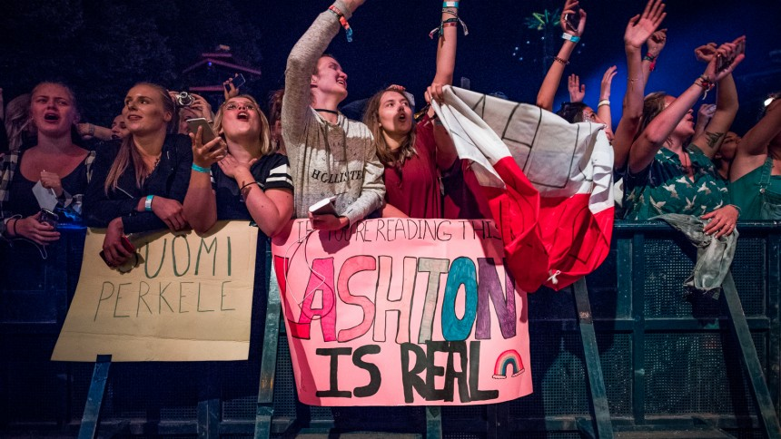 Billedserie: 5 Seconds of Summer indtog Tivoli