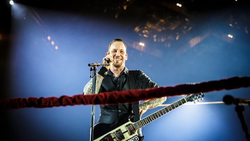 Volbeat peakede i Parken