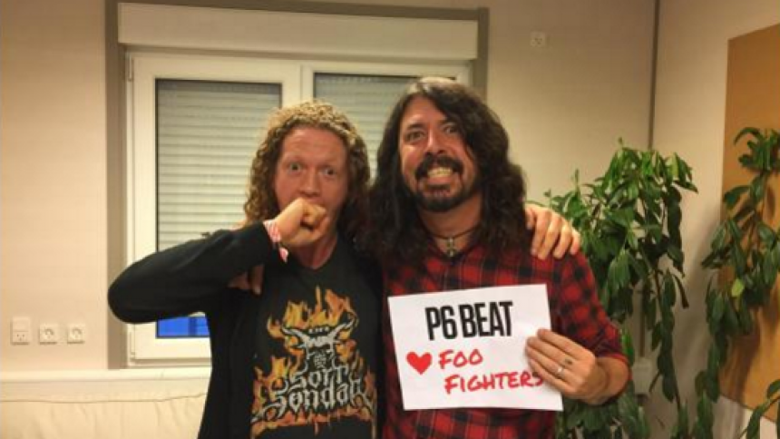 P6 Beat elsker Foo Fighters – med GAFFAs Michael Gonzalez som medvært