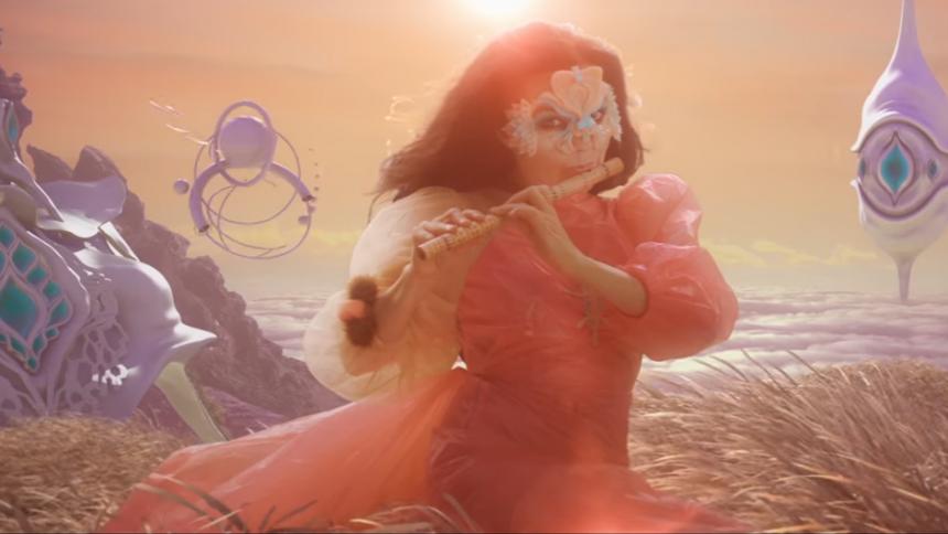 Björk til Danmark