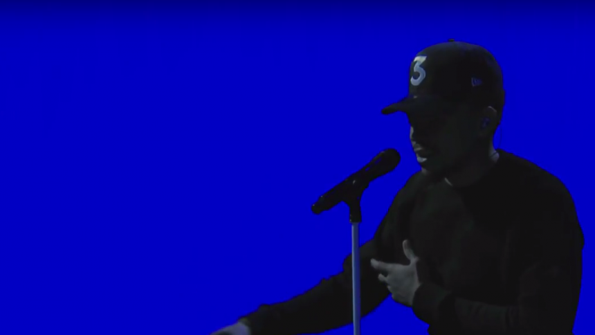 Chance the Rapper fremfører nyt nummer på The Late Show