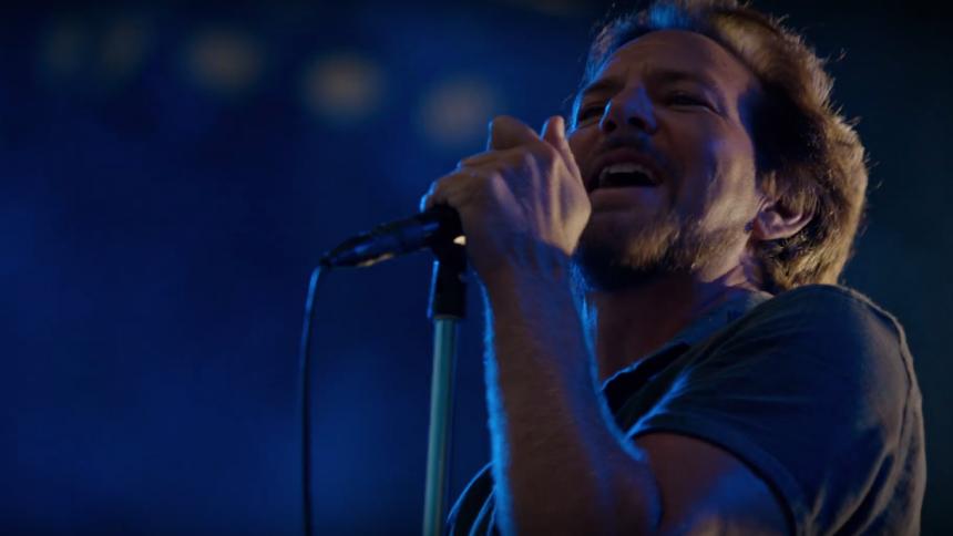 Pearl Jam i kamp mod Donald Trump
