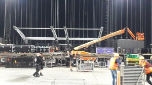 Rolling Stones' scene i Telia Parken 021017