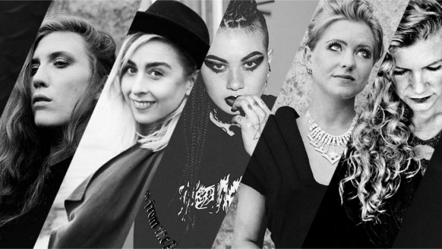 Fem power-piger på Danmarksturné
