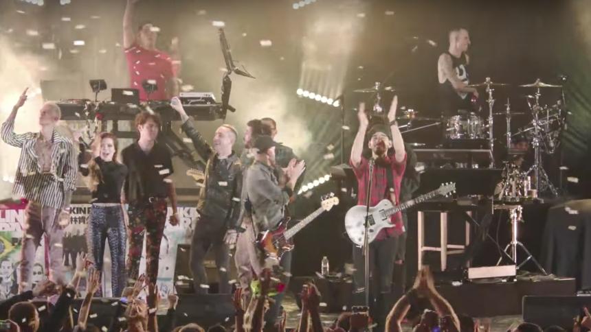 "Fem ""chill factor""-øjeblikke fra Linkin Parks hyldestkoncert"