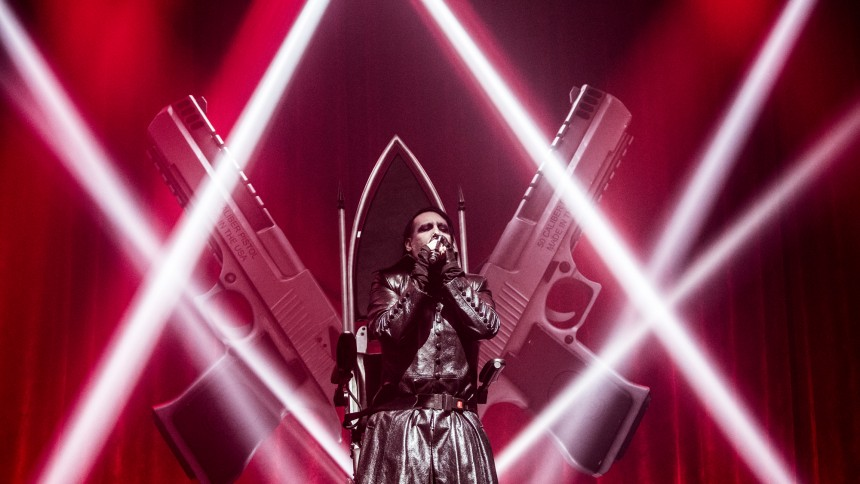 Fans er svært utilfredse efter Marilyn Manson-koncert