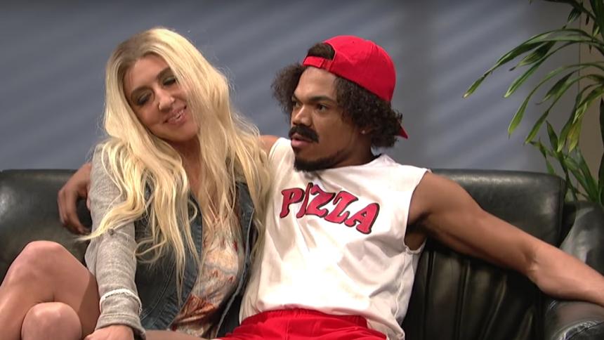 Chance the Rapper gør sig sjov som SNL-vært