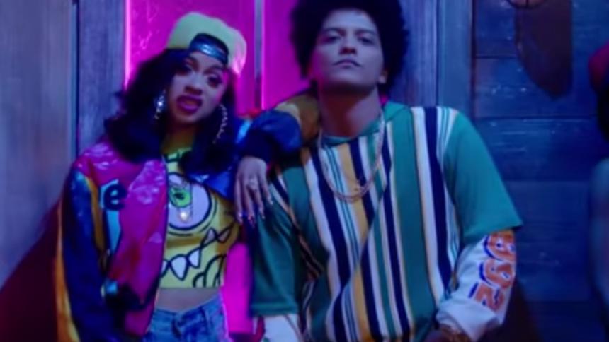 Hør Cardi B og Bruno Mars på ny sensuel single