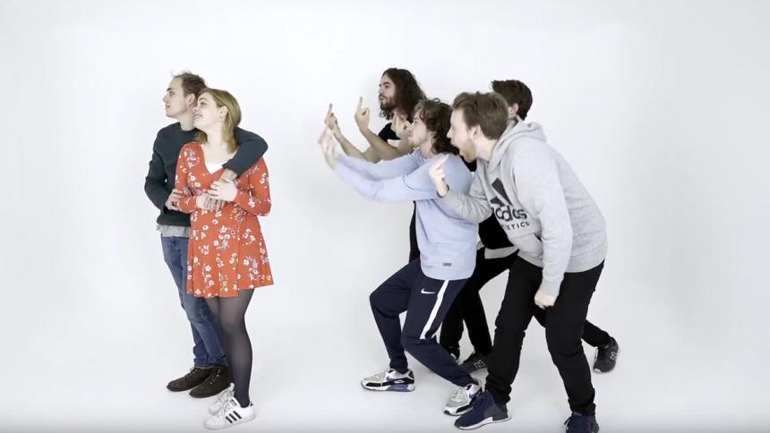 """""""Kærestekedelig"""" –underholdende video med Fuld Effekt, der tager på turné med Marvelous Mosell"""